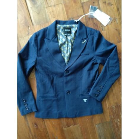 Veste GUESS Bleu, bleu marine, bleu turquoise