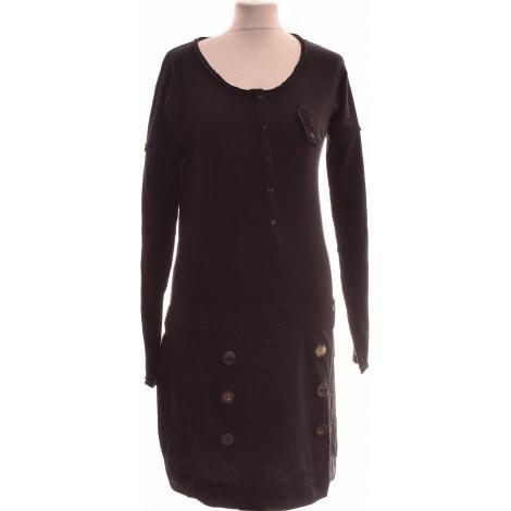 Robe courte MISS CAPTAIN Noir