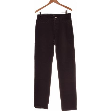 Jeans droit THE KOOPLES Noir