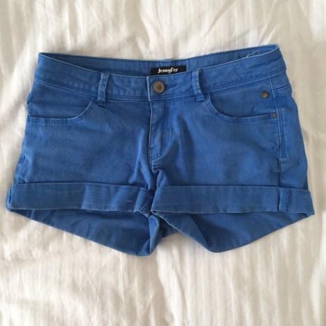 Short JENNYFER Bleu, bleu marine, bleu turquoise
