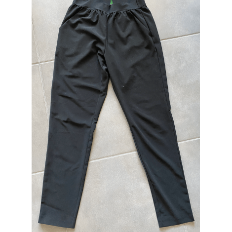 Pantalon slim, cigarette BENETTON Noir