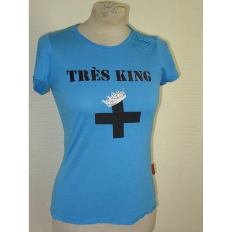 Top, tee-shirt JC DE CASTELBAJAC Bleu, bleu marine, bleu turquoise