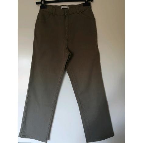 Pantalon droit BURTON Kaki