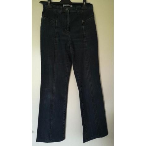 Jeans droit CRO CRO Bleu, bleu marine, bleu turquoise