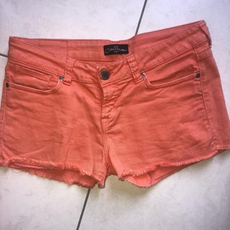 Short en jean CIMARRON Orange