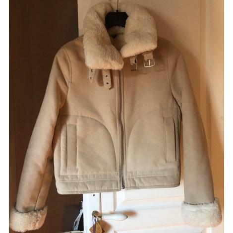 Veste H&M Blanc, blanc cassé, écru