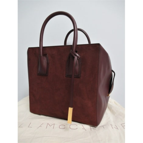 Sac XL en cuir STELLA MCCARTNEY Rouge, bordeaux