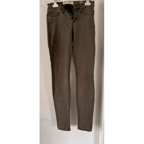 Jeans slim MARC JACOBS Marron