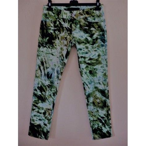 Jeans slim BARBARA BUI Vert