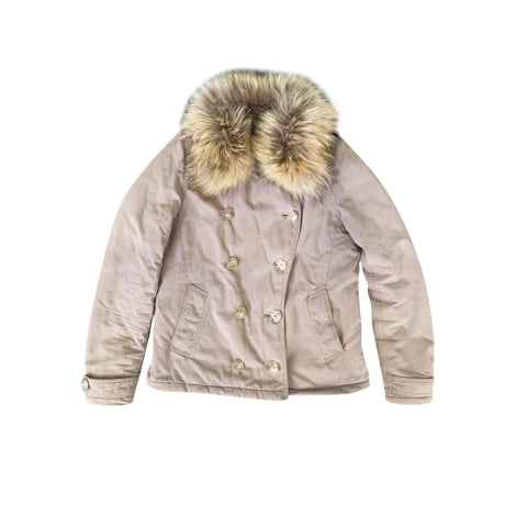 Manteau SUD EXPRESS Marron