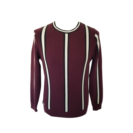 Pull LACOSTE Rouge, bordeaux