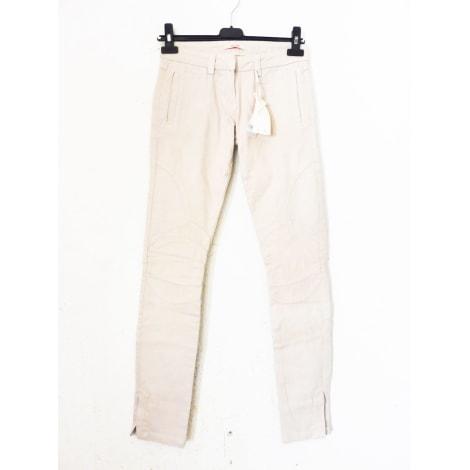 Jeans slim BEL AIR Beige, camel