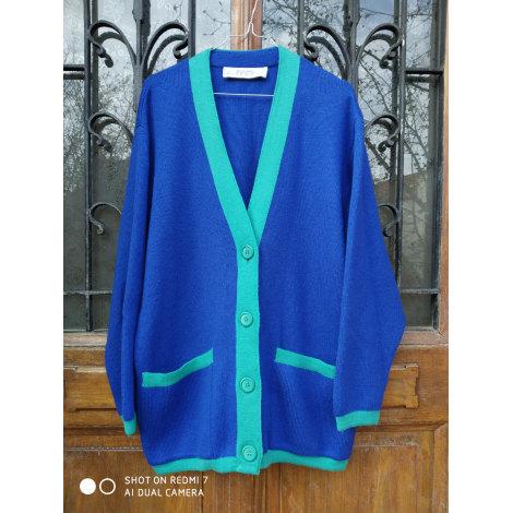 Gilet, cardigan GIVENCHY Bleu, bleu marine, bleu turquoise