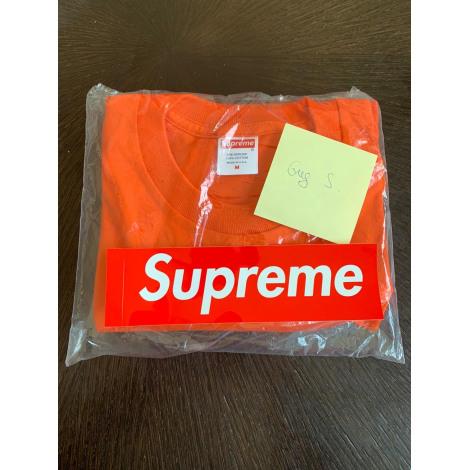 Tee-shirt SUPREME Orange