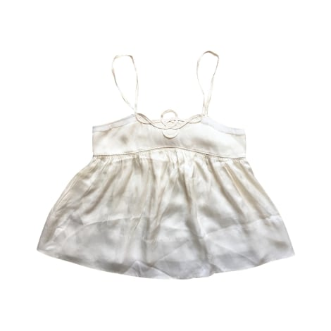 Top, tee-shirt SEE BY CHLOE Blanc, blanc cassé, écru