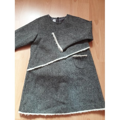 Robe BABY DIOR Gris, anthracite