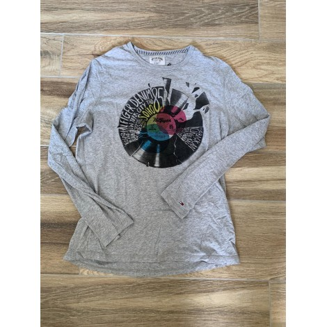 Tee-shirt TOMMY HILFIGER Gris, anthracite