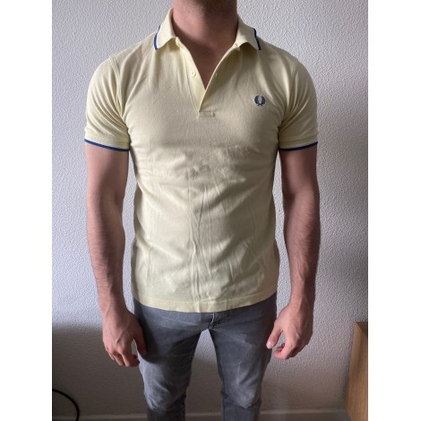 Polo FRED PERRY Jaune