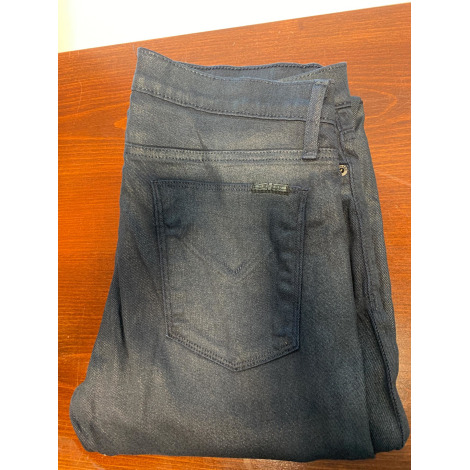 Jeans droit HUDSON JEANS Bleu, bleu marine, bleu turquoise