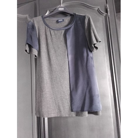 Top, tee-shirt ARMANI JEANS Gris, anthracite