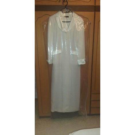 Manteau APART IMPRESSIONS Blanc, blanc cassé, écru