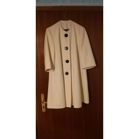 Manteau DANIEL ELISE Blanc, blanc cassé, écru