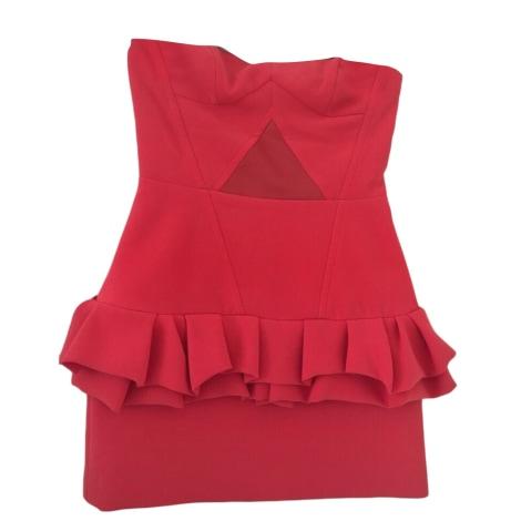 Corset Dress MAJE Pink, fuchsia, light pink