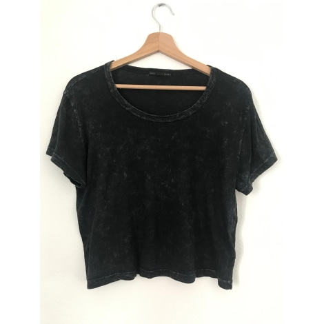 Top, tee-shirt URBAN OUTFITTERS Gris, anthracite