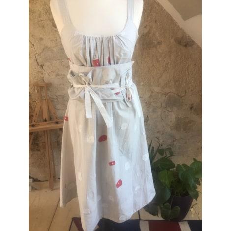 Robe mi-longue CREA CONCEPT Blanc, blanc cassé, écru