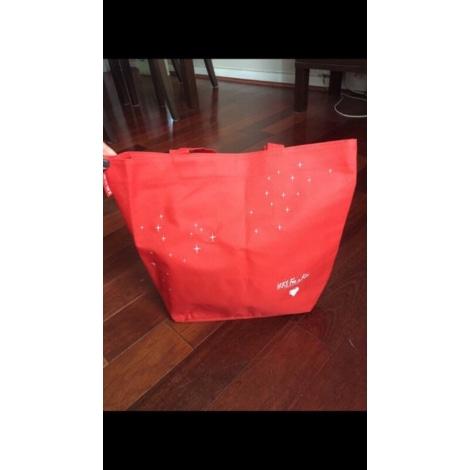 Sac XL en tissu IKKS Rouge, bordeaux