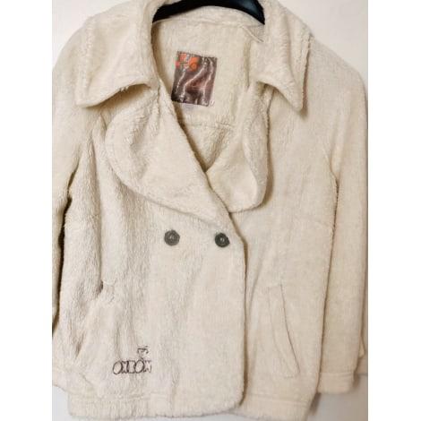 Manteau OXBOW Blanc, blanc cassé, écru