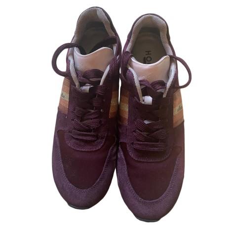 Chaussures de sport HOGAN Violet, mauve, lavande