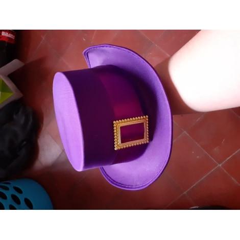 Chapeau MARQUE INCONNUE Violet, mauve, lavande