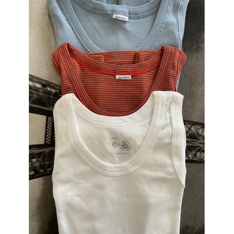 Tee-shirt PETIT BATEAU Blanc, blanc cassé, écru