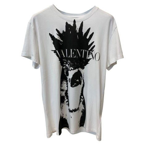 Tee-shirt VALENTINO Blanc, blanc cassé, écru