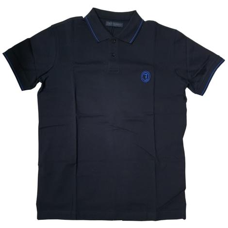 Polo TRUSSARDI Bleu, bleu marine, bleu turquoise