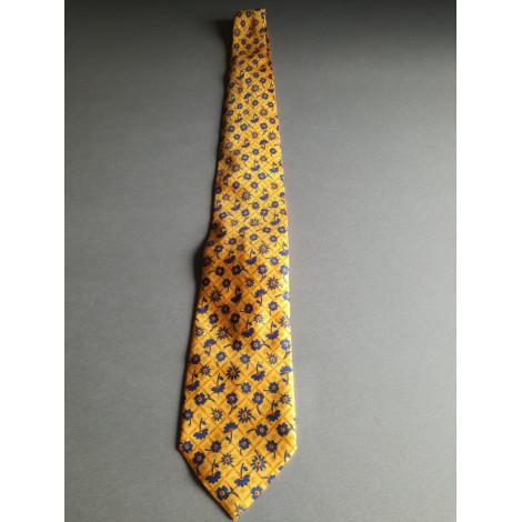 Cravate TED LAPIDUS Jaune