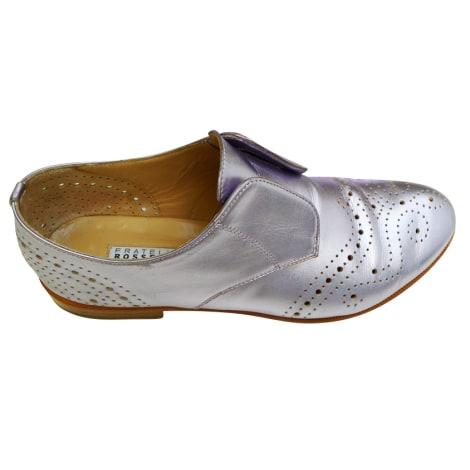 Chaussures à lacets  FRATELLI ROSSETTI Argenté, acier