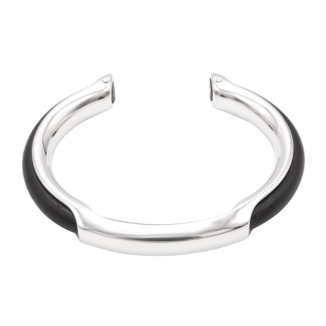 Bracelet HERMÈS Argenté, acier
