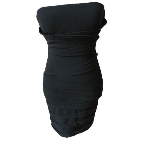 Robe bustier MAJE Noir