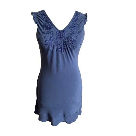 Robe courte BEL AIR Bleu, bleu marine, bleu turquoise