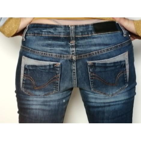 Jeans droit ONLY Bleu, bleu marine, bleu turquoise