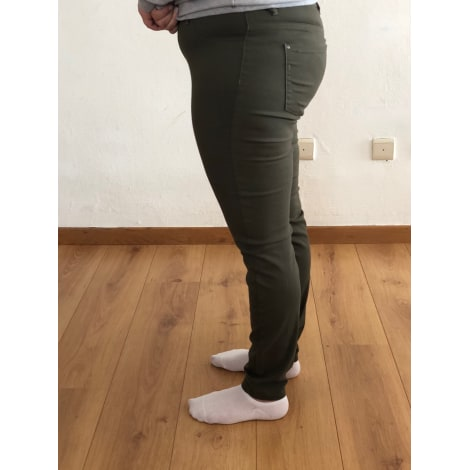 Pantalon slim, cigarette JACQUELINE DE YONG Kaki