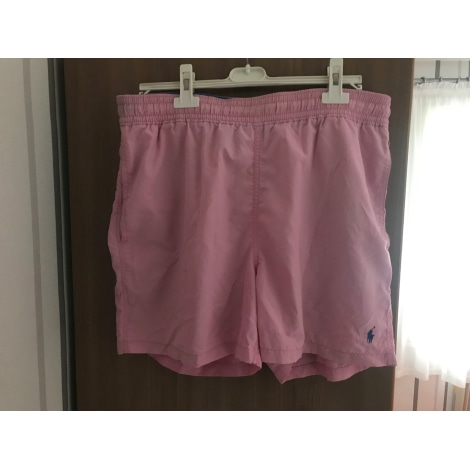 Short de bain RALPH LAUREN Rose, fuschia, vieux rose