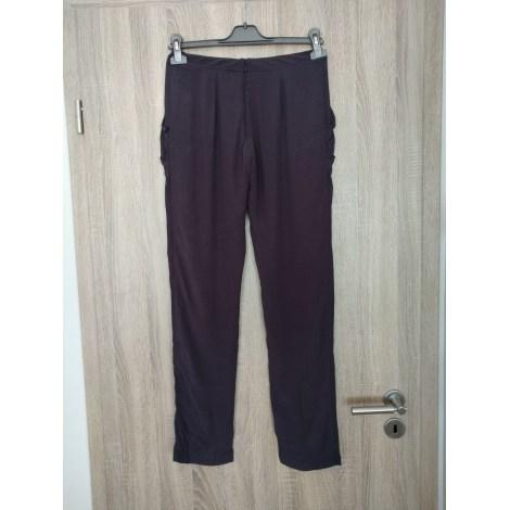 Pantalon droit BEL AIR Gris, anthracite