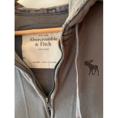 Sweat ABERCROMBIE & FITCH Gris, anthracite