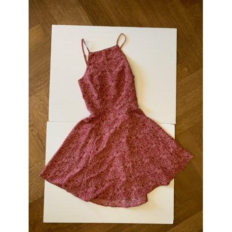 Robe courte HOLLISTER Rouge, bordeaux