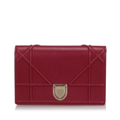 Wallet DIOR Red