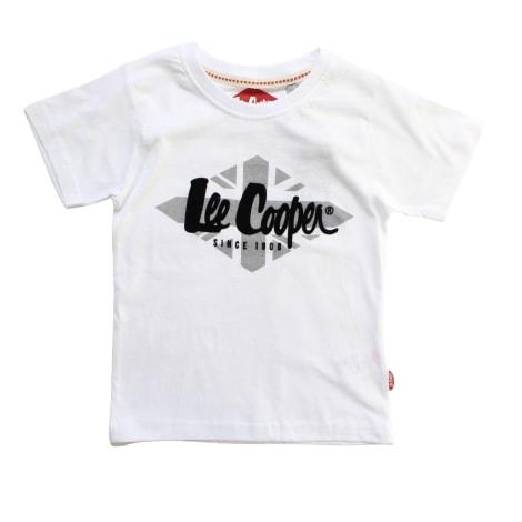 Tee-shirt LEE COOPER Blanc, blanc cassé, écru