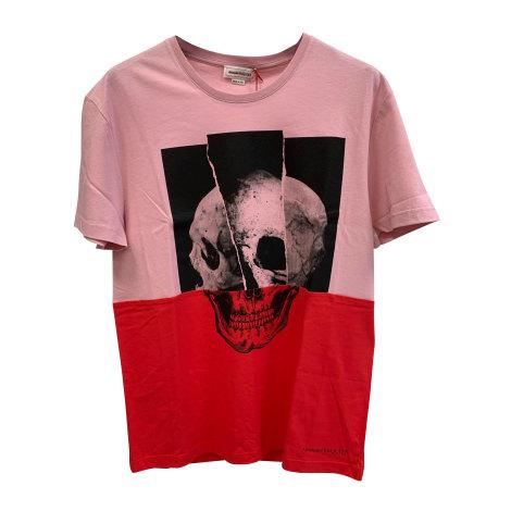 Tee-shirt ALEXANDER MCQUEEN Rose, fuschia, vieux rose